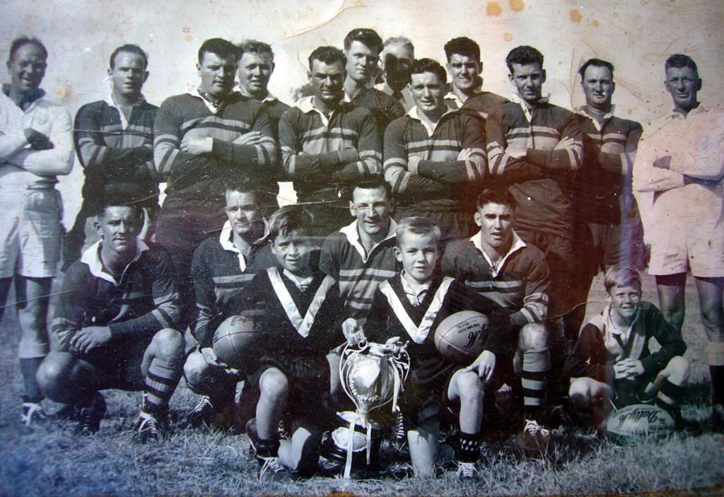 Barmedman Maher Cup winning team of 1955