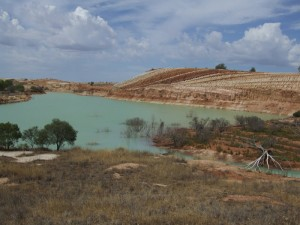 Water for mining is more reliable.