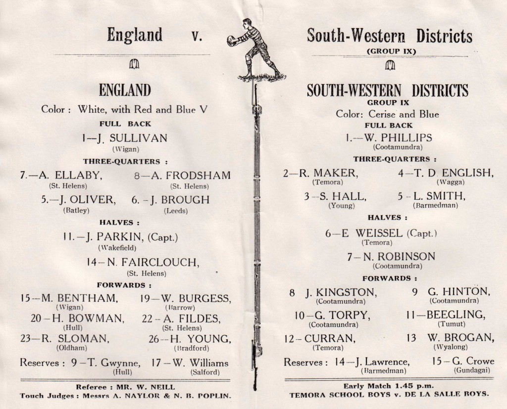 England v South-West District (Group IX) 30 may 1928